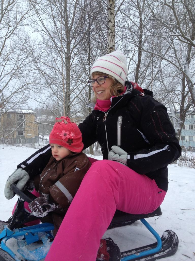 mer snö, januari 2014 001